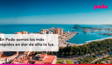 Cómo dar de alta la luz en Málaga