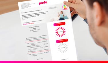 Las facturas de Podo son las más simples y fáciles de leer del mercado energético