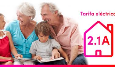 Tarifas eléctricas para los hogares: descubre las caracerísitca de la tarifa eléctrica 2.1A