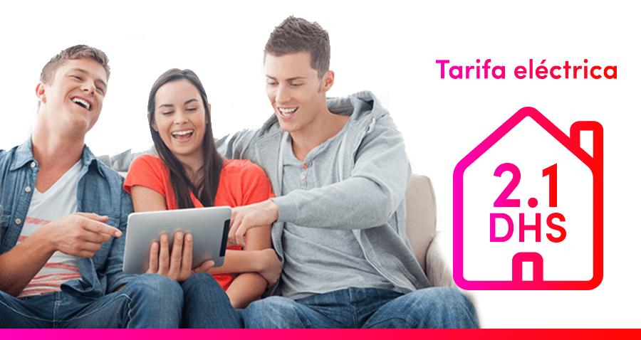Tarifas eléctrica para hogares: conoce las ventajas y características de la tarifa eléctrica 2.1 DHS