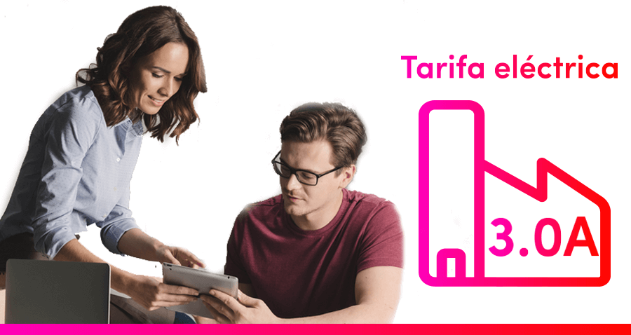 Tarifa eléctrica 3.0A