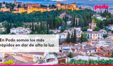 Cómo dar de alta la luz en Granada