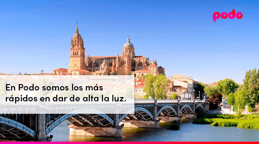 Dar de alta la luz rápido en Salamanca