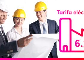 Descubre la tarifa eléctrica 6.2, esta tarifa está destinada a las grandes empresas