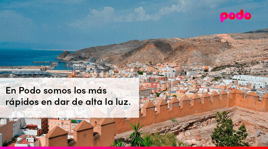 Cómo dar de alta la luz en Almería