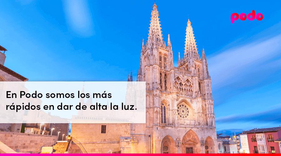 Cómo dar de alta la luz en Burgos