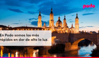Cómo dar de alta la luz en Zaragoza