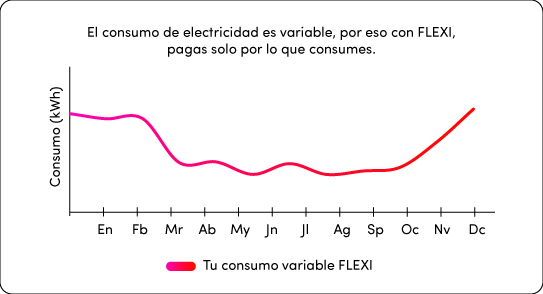 Gráfico de FLEXI