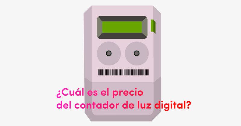 Cu l es el precio del contador de luz digital comprar for Contador de luz precio