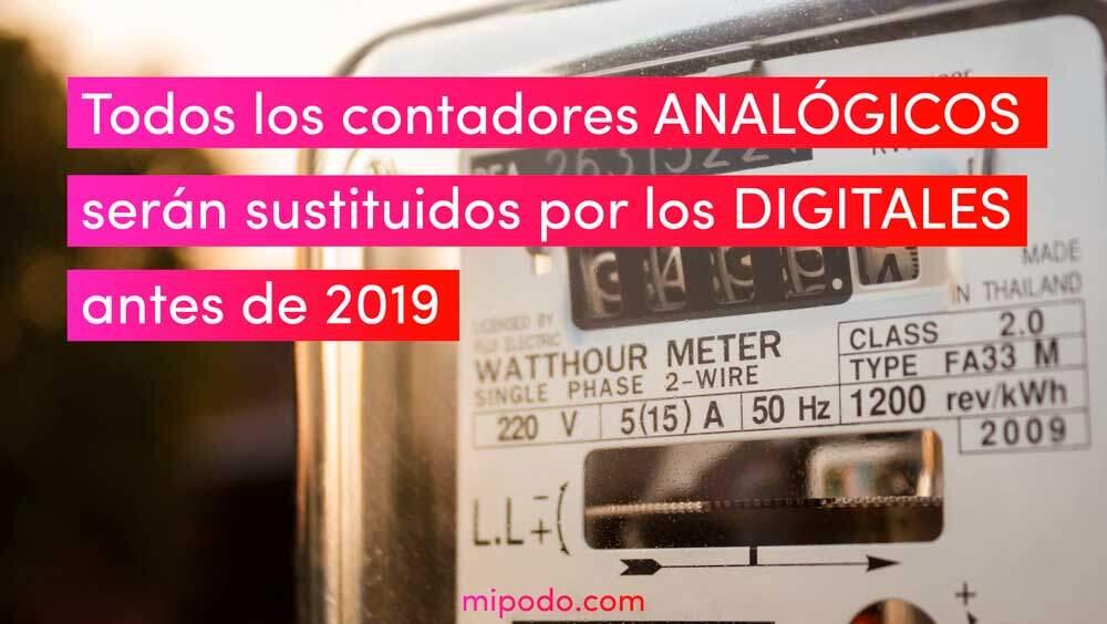 Diferencias Del Contador Analógico Y El Medidor Digital