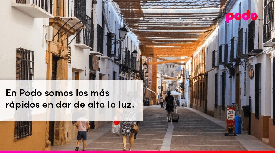 Dar de alta la luz rápido en Ciudad Real