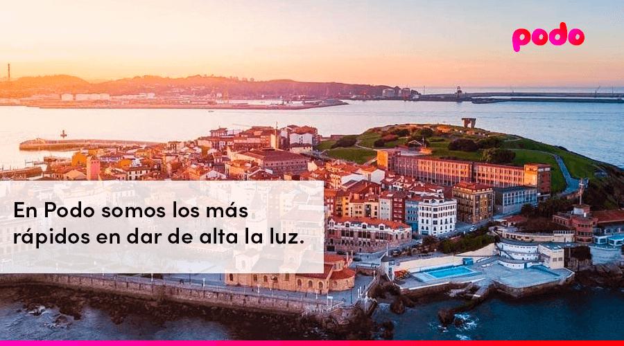 Cómo dar de alta la luz en Gijón