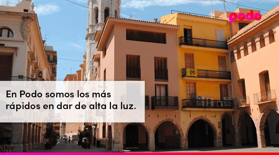 Dar de alta la luz rápido en Villarreal