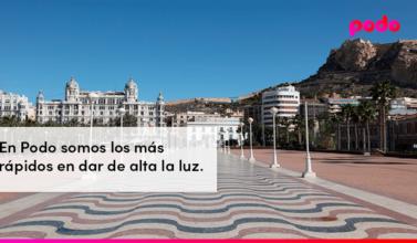 Cómo dar de alta la luz en Alicante