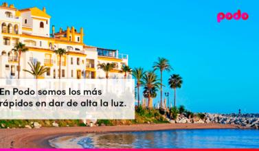 Cómo dar de alta la luz en Marbella
