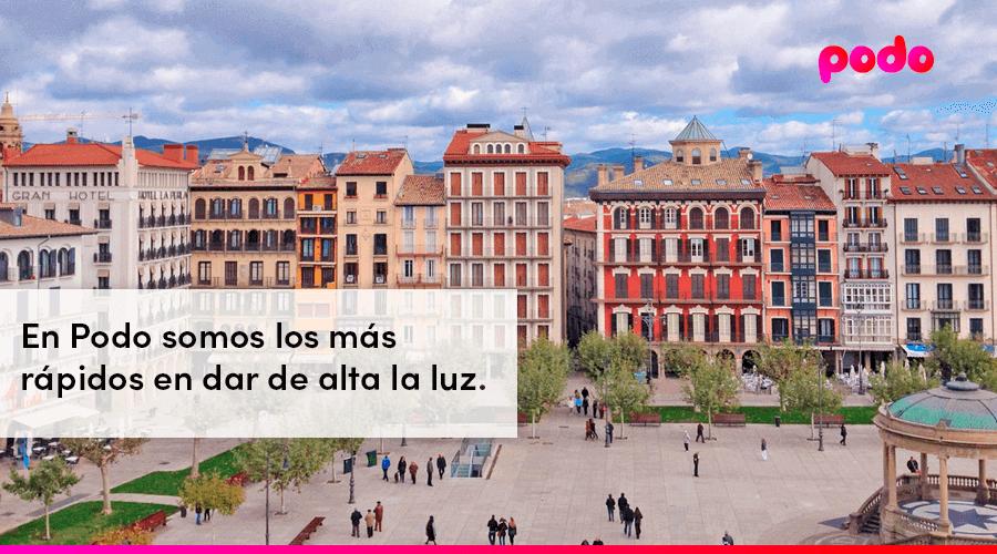Cómo dar de alta la luz en Pamplona