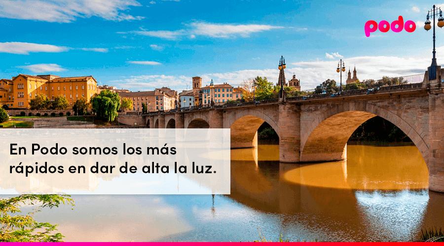 Cómo dar de alta la luz en Logroño