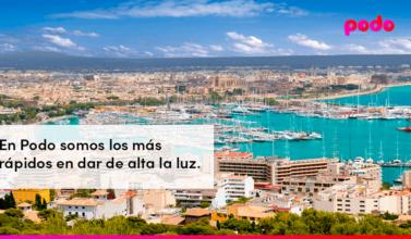 Cómo dar de alta la luz en Palma de Mallorca