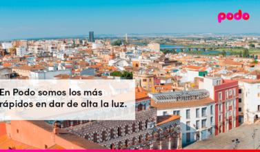 Cómo dar de alta la luz en Badajoz