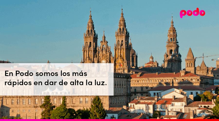 Cómo dar de alta la luz en Santiago de Compostela