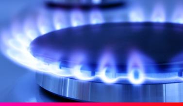 Fogón de gas natural