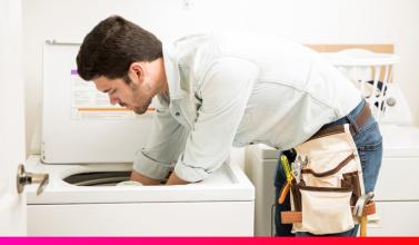 reparación y mantenimiento de secadoras
