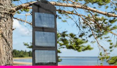 Las placas solares portátiles son perfectas para los pequeños dispositivos electrónicos