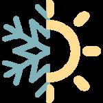 Icono frío calor