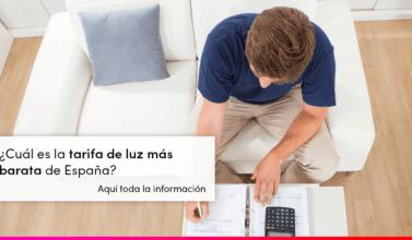 ¿Cuál es la tarifa de luz más barata de España?