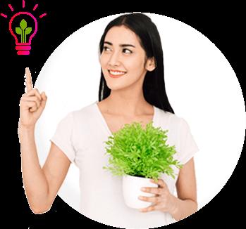 Clienta de PODO, energía verde