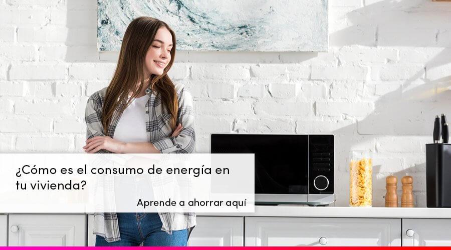 Consumo de energía en una vivienda